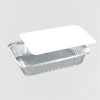 Vaschette Alluminio 1 E 2 Porz. Con Coperchio